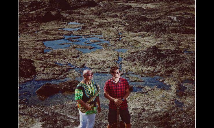 Joe and Luiz on the beach….