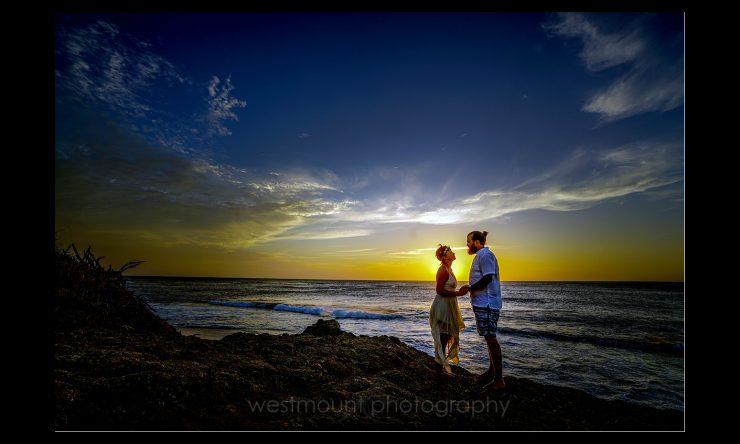 """Tamarindo, Costa Rica """"engagement"""" photos of Dana & Zak"""