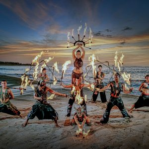 fire-dance-beach-sunset-costa-rica-show-art-photography