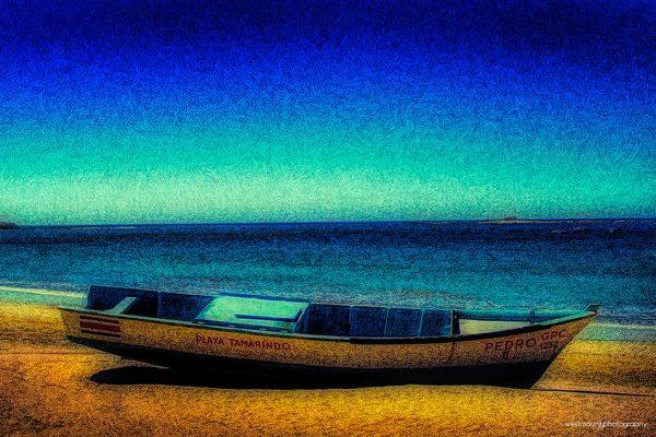 rustic-boat-beach-playa-tamarindo-costa-rica-photo-art
