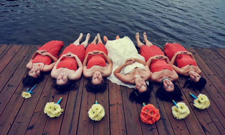 Unusual poses for your wedding photography?