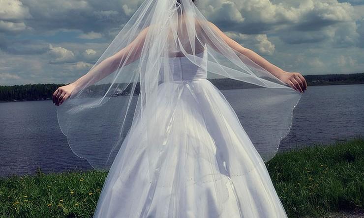 A beautiful bride…..