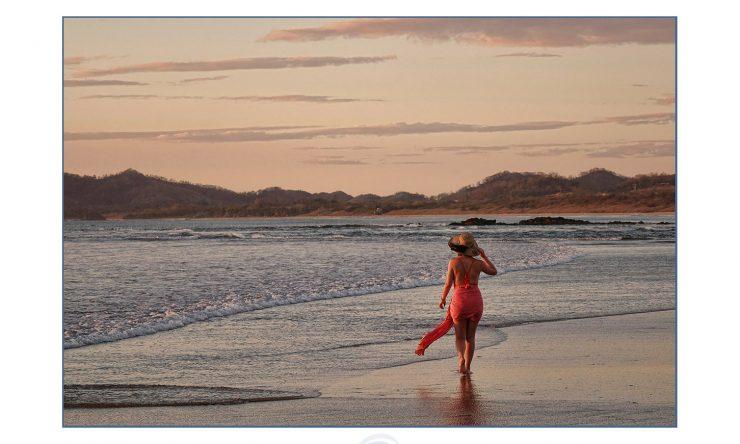Painterley portraits on the beach in Tamarindo, Costa Rica