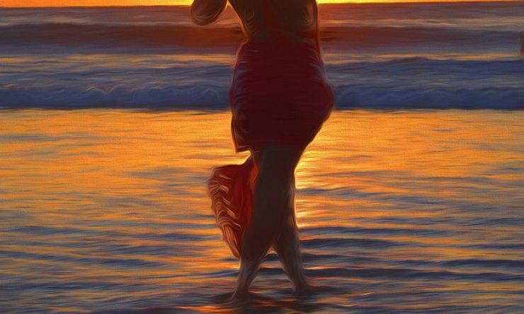 Elegance At Sunset