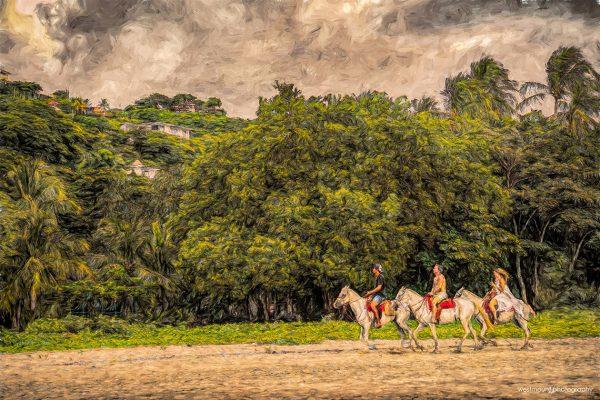 horseback-riding-beach-costa-rica-tamarindo-art-photos