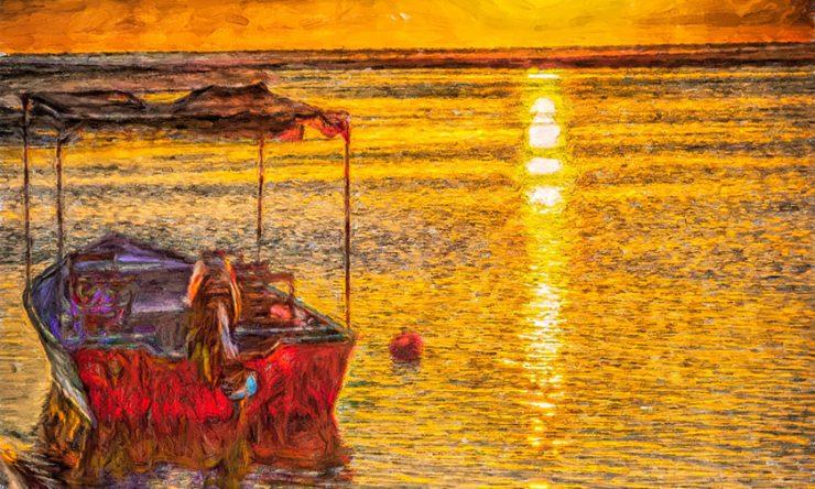 Tamarindo Sunset & Panga Boat
