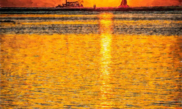 Tamarindo Sailboats and Sunsets